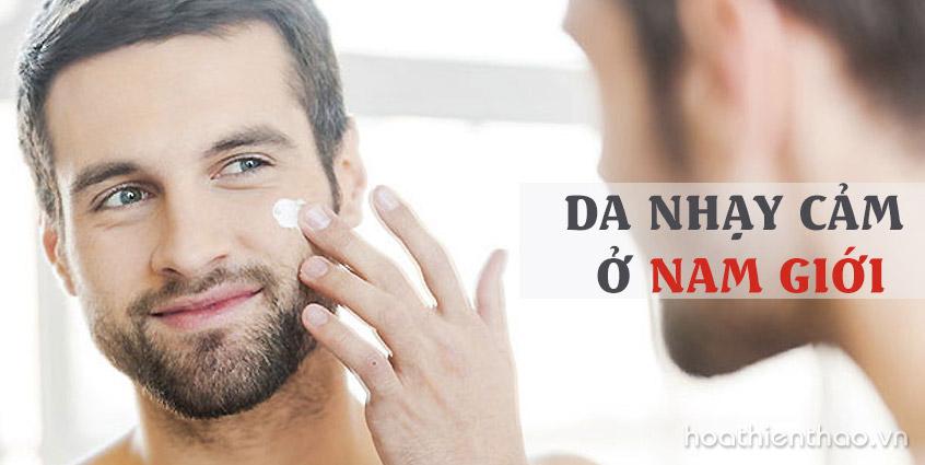 4 Cách chăm sóc da nhạy cảm ở nam giới