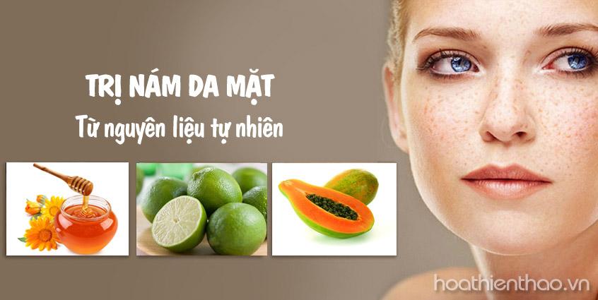 4 Nguyên liệu tự nhiên trị nám da mặt hiệu quả