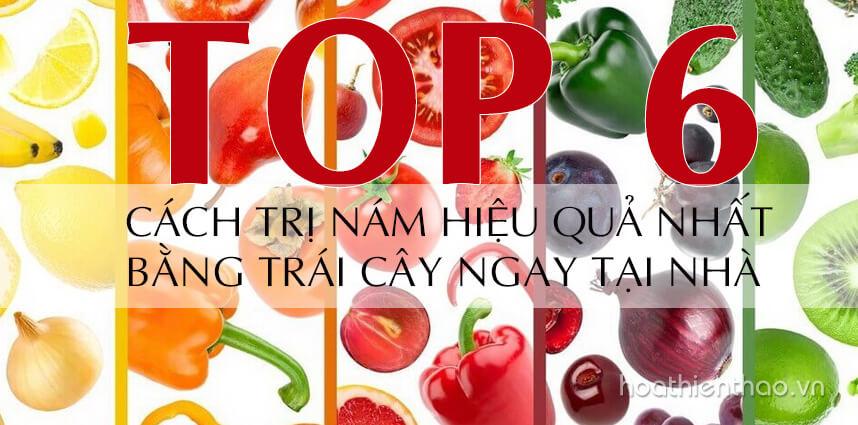 6 cách trị nám hiệu quả nhất bằng trái cây - Hoa Thiên Thảo