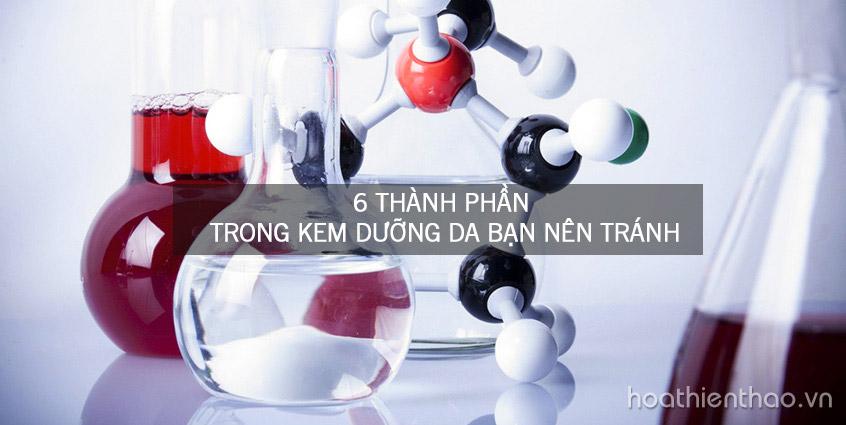 6 Thành phần trong kem dưỡng da bạn nên tránh