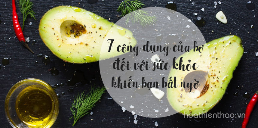 7 công dụng của bơ đối với sức khỏe - Hoa Thien Thao Cosmetics