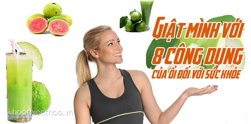 8 công dụng của ổi đối với sức khỏe - Hoa Thien Thao Cosmetics