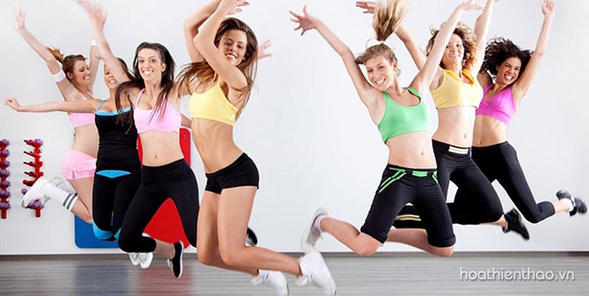 Bài tập Aerobic giúp giảm cân hiệu quả