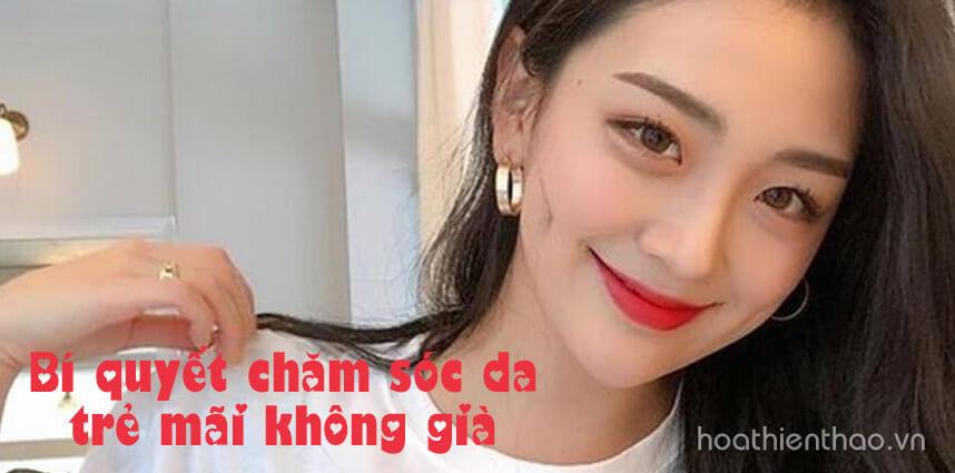 Bí quyết chăm sóc da trẻ mãi không già - Hoa Thien Thao Cosmetics