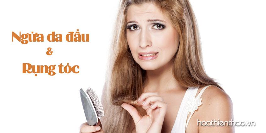Biện pháp ngăn chặn rụng tóc và ngứa da dầu