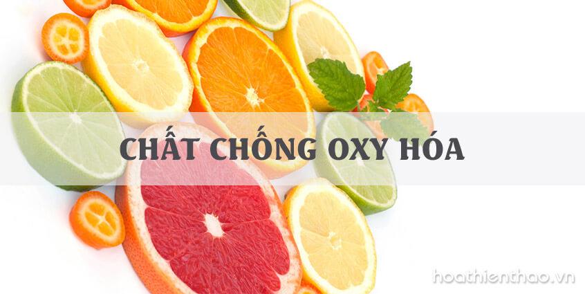 Các chất chống oxy hóa tốt cho làn da