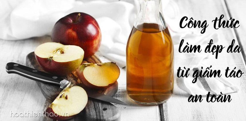 Công thức làm đẹp da từ giấm táo an toàn - Hoa Thiên Thảo