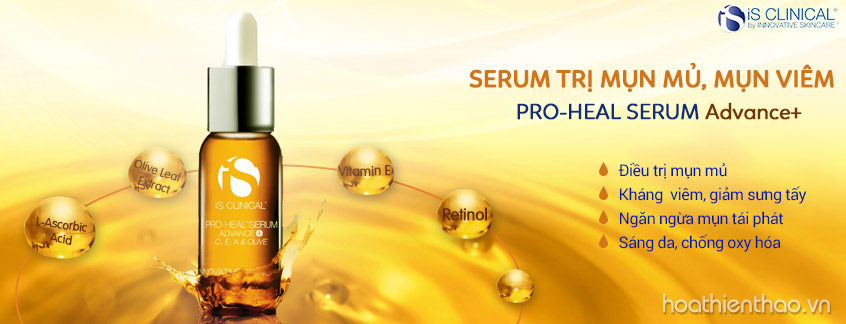 Serum đặc trị mụn mủ iS Clinical Pro-Heal