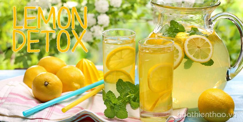 """Giảm cân an toàn và hiệu quả với """"Lemon Detox"""""""