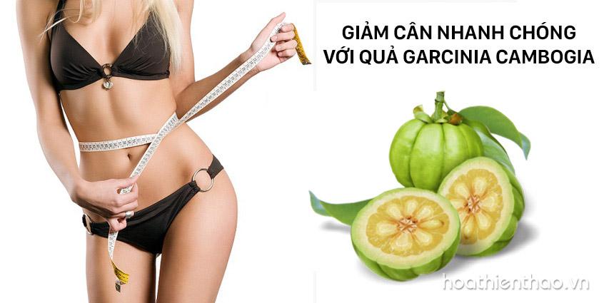 Giảm cân với quả Garcinia Cambogia nhanh chóng