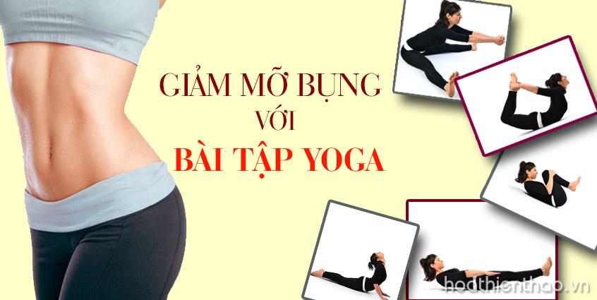 Giảm mỡ bụng hiệu quả với Yoga