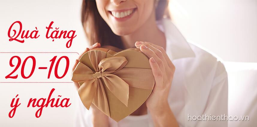 Gợi ý những món quà tặng 20-10 ý nghĩa dành cho phụ nữ