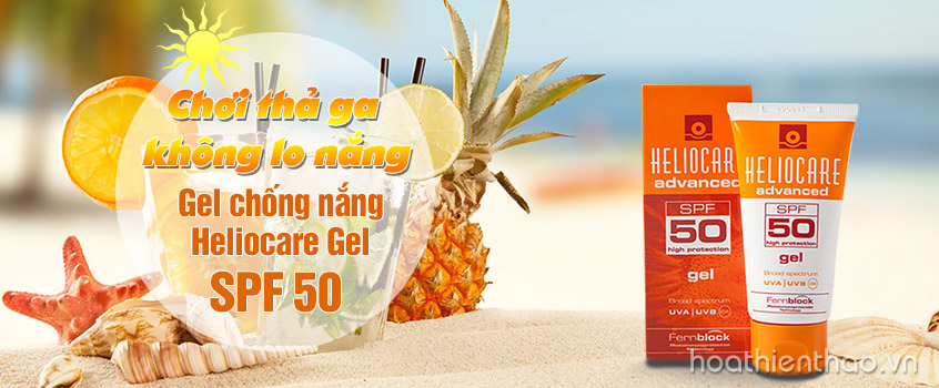 Kem chống nắng dạng gel Heliocare SPF 50