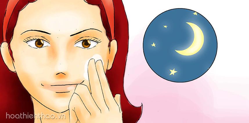 Kem dưỡng trắng da mặt ban đêm loại nào tốt nhất hiện nay - Hoa Thiên Thảo