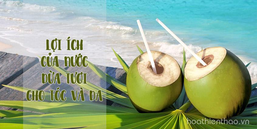 Lợi ích của nước dừa tươi cho tóc và da - Có thể bạn chưa biết?