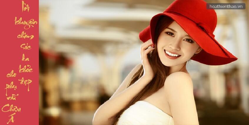 Lời khuyên chăm sóc da khỏe đẹp cho phụ nữ Châu Á