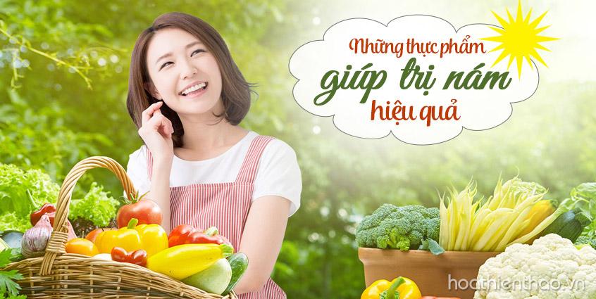 Những thực phẩm giúp trị nám hiệu quả