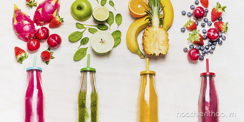 TOP 7 Công thức Detox giảm cân, làm đẹp da dễ làm dễ uống