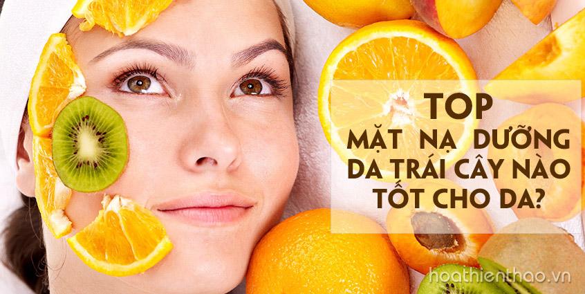 TOP mặt nạ dưỡng da trị nám trái cây hiệu quả