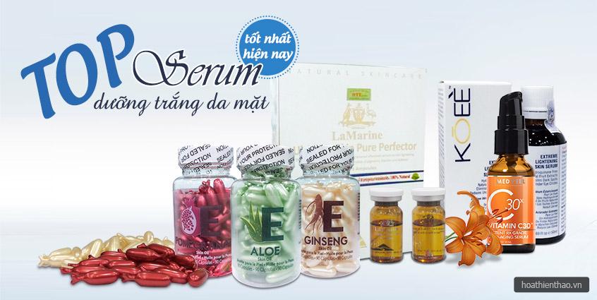 Serum dưỡng trắng da nào mặt tốt nhất hiện nay?