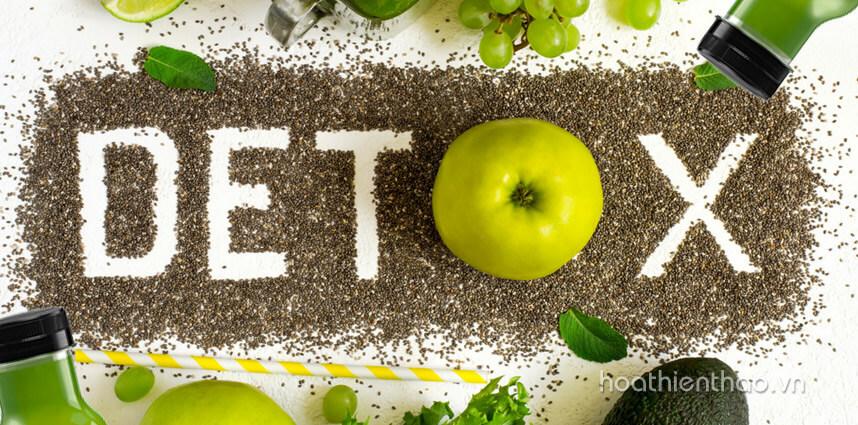 10 Cách làm detox giảm cân đẹp da không thể bỏ qua - hoathienthaovn