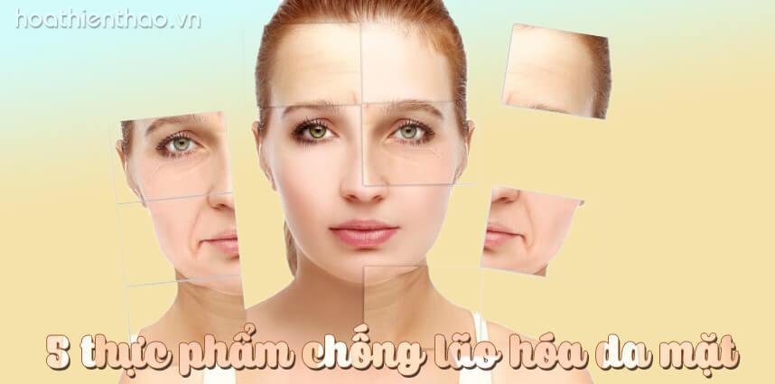 5 thực phẩm chống lão hóa da mặt kéo dài tuổi xuân - hoathienthaovn