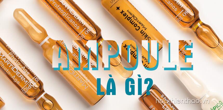 Ampoule là gì Các loại Ampoule tốt nhất hiện nay - Hoa Thiên Thảo