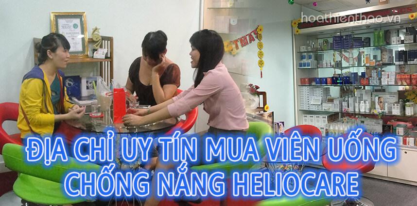 Địa chỉ uy tín mua viên uống chống nắng Heliocare - Hoa Thiên Thảo