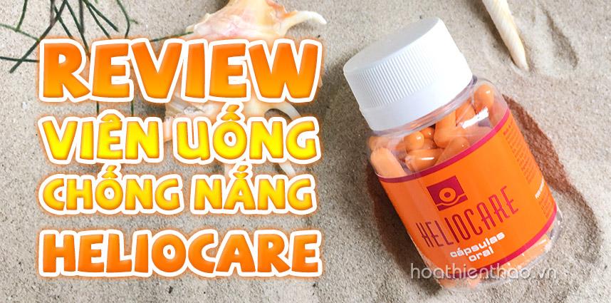 Review viên uống chống nắng Heliocare - Hoa Thiên Thảo