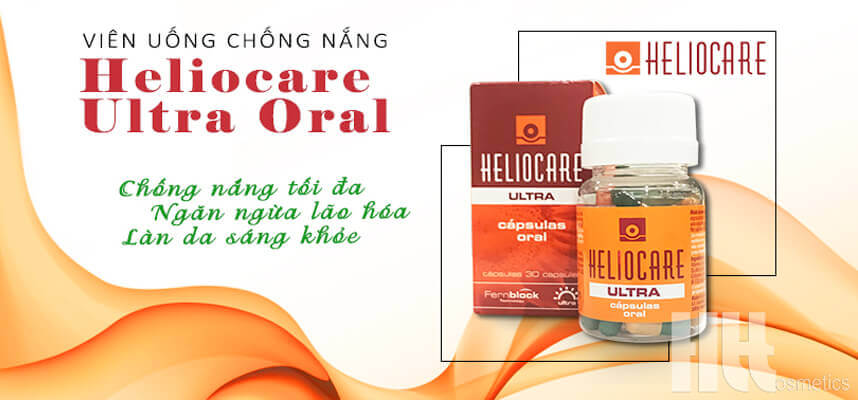 Review viên uống chống nắng Heliocare Ultra Oral - HoaThienThao