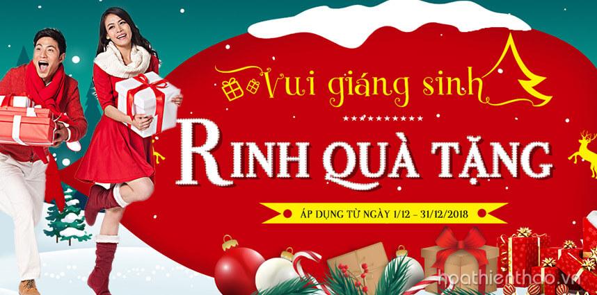 Vui giáng sinh - Rinh quà tặng hấp dẫn cùng Hoa Thiên Thảo
