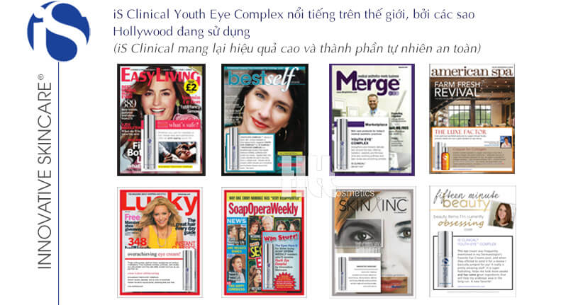 Kem trị thâm quầng mắt iS Clinical Youth Eye Complex