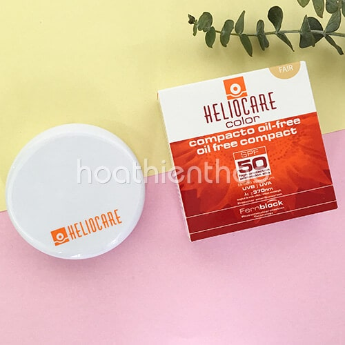 Phấn nền chống nắng Heliocare Compact Fair SPF 50