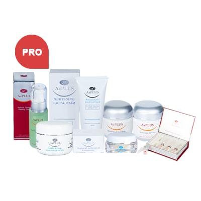 Bộ sản phẩm chăm sóc da Pro APlus - Hoa Thiên Thảo
