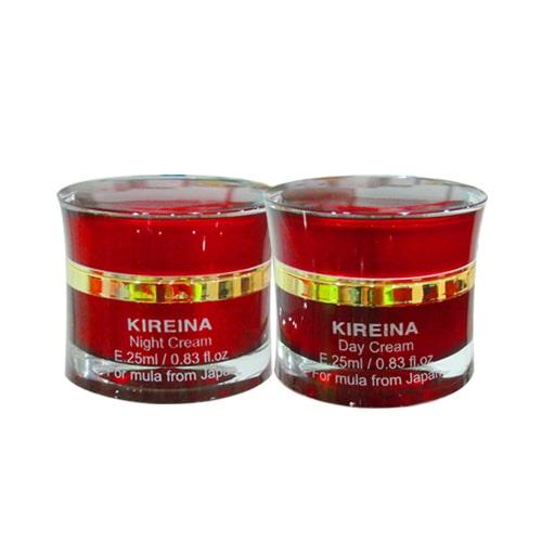 Bộ kem giảm nám trắng da ngày và đêm Kireina