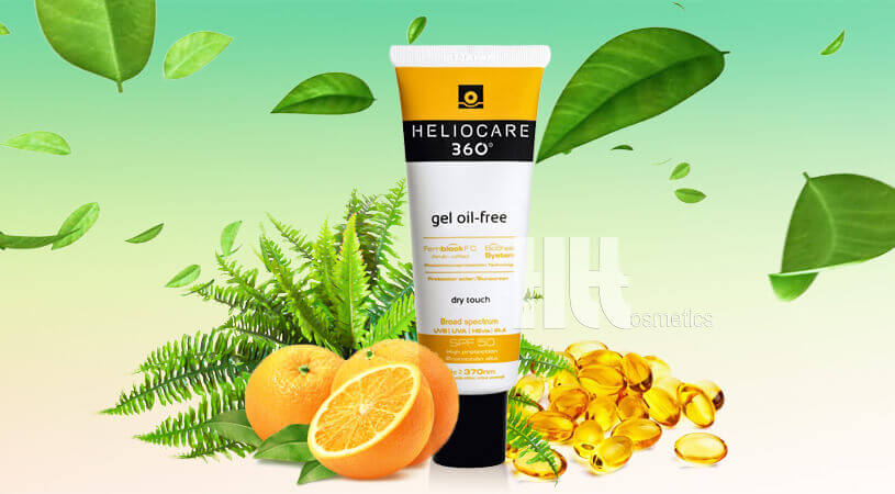Gel chống nắng Heliocare 360 Oil-Free SPF50 - HoaThienThao