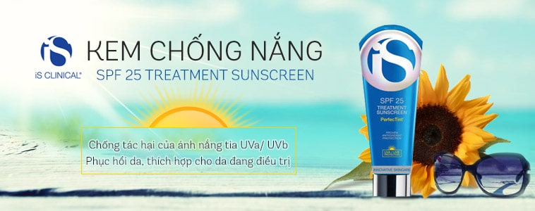 Kem chống nắng iS Clinical Treatment Sunscreen SPF 25