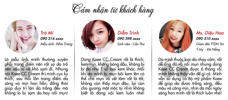 Kem trang điểm Koee CC Cream Santee Magic Skin Beautifer