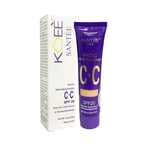 Kem trang điểm Koee CC Cream Santee Magic Skin Beautifer - Hoa Thiên Thảo