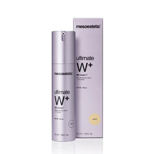 Kem trang điểm Mesoestetic Ultimate W+ Whitening BB Cream SPF 50