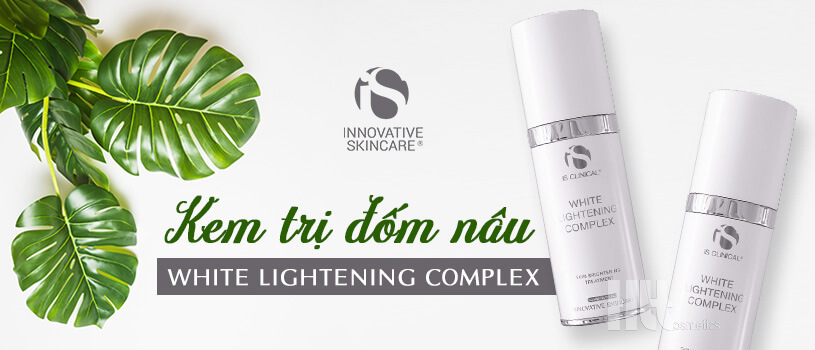 Kem trị đốm nâu iS Clinical White Lightening Complex - HoaThienThao