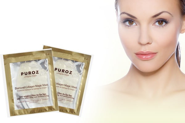 Mặt nạ collagen Puroz tinh chất cá hồi - Made in France