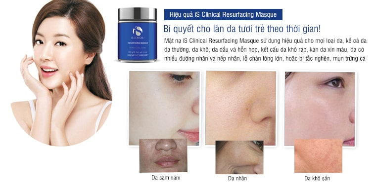 Mặt nạ tái tạo da iS Clinical Resurfacing Masque