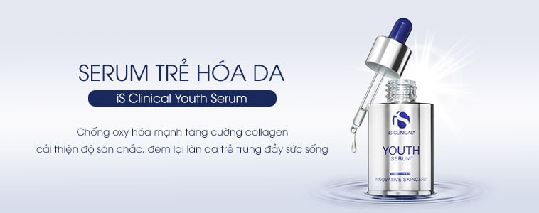 Serum giảm nhăn phục hồi da iS Clinical Youth