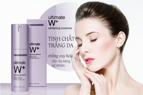 Tinh chất trắng da Mesoestetic Ultimate W+ Whitening Essence